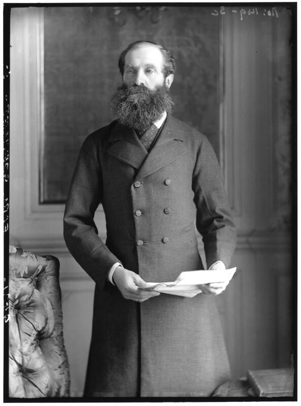 John Poyntz Spencer, 5th Earl Spencer, by Alexander Bassano, 1883 - NPG x96413 - © National Portrait Gallery, London