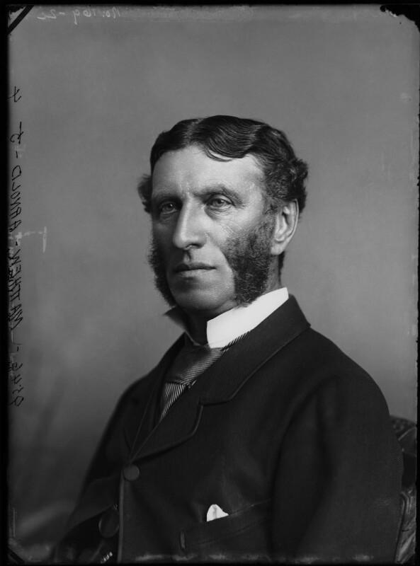 Matthew Arnold, by Alexander Bassano, 1883 - NPG x96458 - © National Portrait Gallery, London