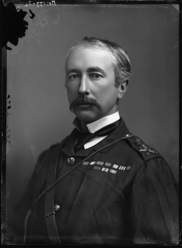 Garnet Joseph Wolseley, 1st Viscount Wolseley, by Alexander Bassano, 1880s - NPG x96481 - © National Portrait Gallery, London