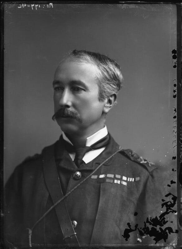 Garnet Joseph Wolseley, 1st Viscount Wolseley, by Alexander Bassano, 1880s - NPG x96482 - © National Portrait Gallery, London
