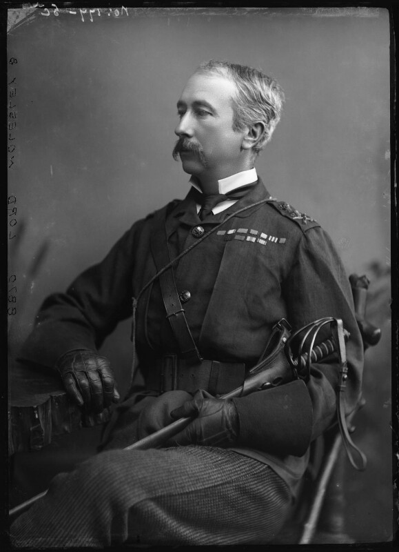 Garnet Joseph Wolseley, 1st Viscount Wolseley, by Alexander Bassano, 1880s - NPG x96483 - © National Portrait Gallery, London