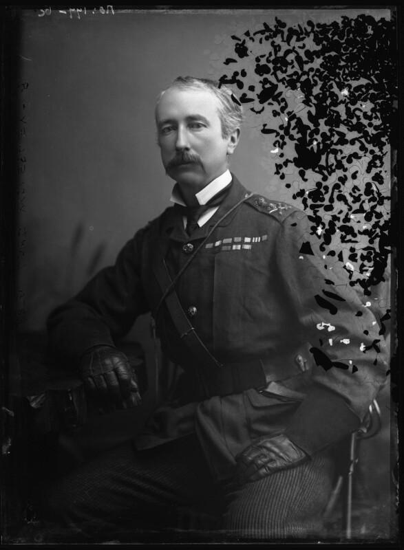 Garnet Joseph Wolseley, 1st Viscount Wolseley, by Alexander Bassano, 1880s - NPG x96484 - © National Portrait Gallery, London