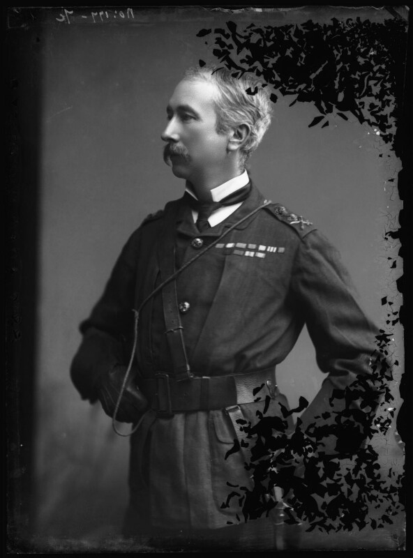 Garnet Joseph Wolseley, 1st Viscount Wolseley, by Alexander Bassano, 1880s - NPG x96485 - © National Portrait Gallery, London