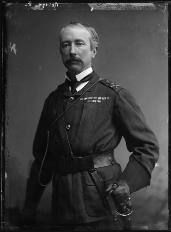 Garnet Joseph Wolseley, 1st Viscount Wolseley, by Alexander Bassano, 1880s - NPG x96486 - © National Portrait Gallery, London