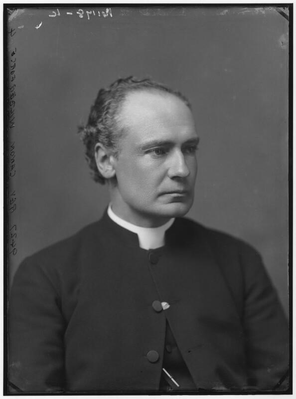 Albert Basil Orme Wilberforce, by Alexander Bassano, 1883 - NPG x96487 - © National Portrait Gallery, London