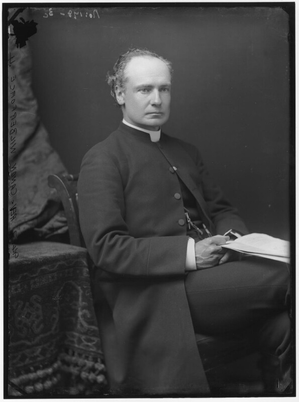 Albert Basil Orme Wilberforce, by Alexander Bassano, 1883 - NPG x96489 - © National Portrait Gallery, London