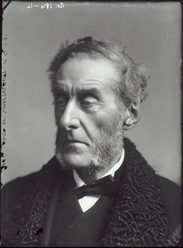 Anthony Ashley-Cooper, 7th Earl of Shaftesbury, by Alexander Bassano, 1883? - NPG x96510 - © National Portrait Gallery, London
