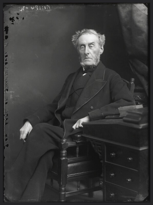 Anthony Ashley-Cooper, 7th Earl of Shaftesbury, by Alexander Bassano, 1883? - NPG x96512 - © National Portrait Gallery, London