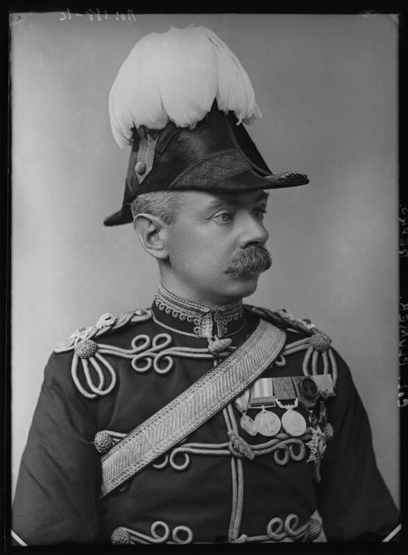 Herbert Plumer, 1st Viscount Plumer, by Alexander Bassano, 1899 - NPG x96526 - © National Portrait Gallery, London