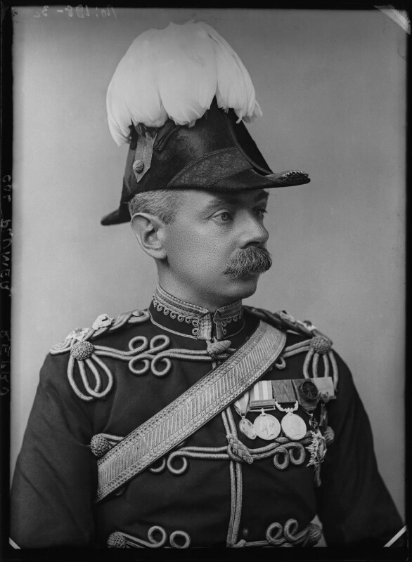 Herbert Plumer, 1st Viscount Plumer, by Alexander Bassano, 1899 - NPG x96528 - © National Portrait Gallery, London