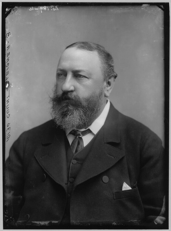 Count Gleichen (Prince Victor of Hohenlohe-Langenburg), by Alexander Bassano, circa 1880s - NPG x96529 - © National Portrait Gallery, London