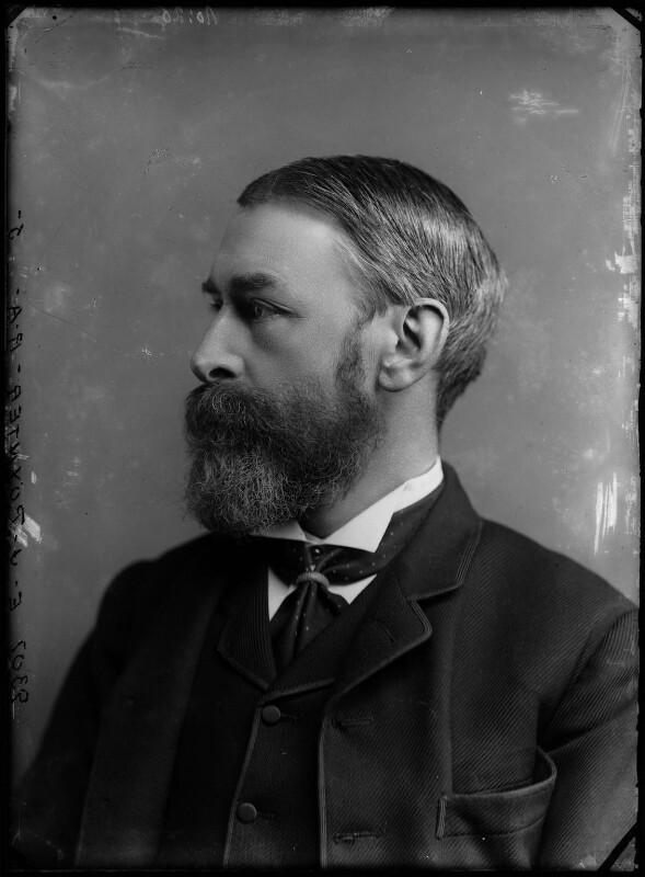 Sir Edward John Poynter, 1st Bt, by Alexander Bassano, 1883 - NPG x96607 - © National Portrait Gallery, London