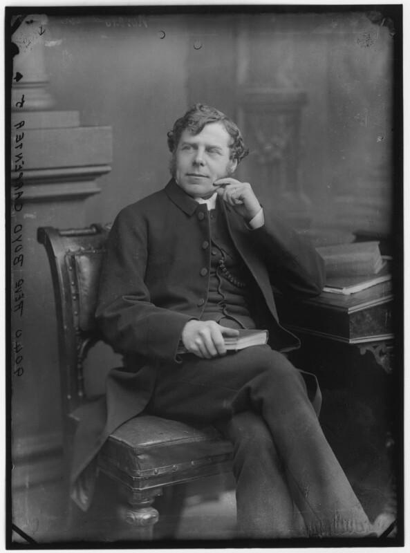 William Boyd Carpenter, by Alexander Bassano, 1883 - NPG x96618 - © National Portrait Gallery, London