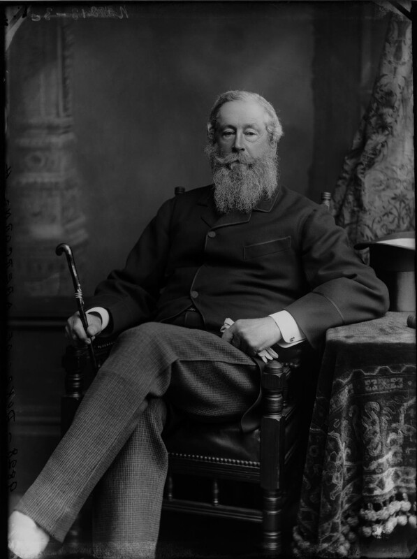 James Hamilton, 1st Duke of Abercorn, by Alexander Bassano, circa 1884 - NPG x96626 - © National Portrait Gallery, London