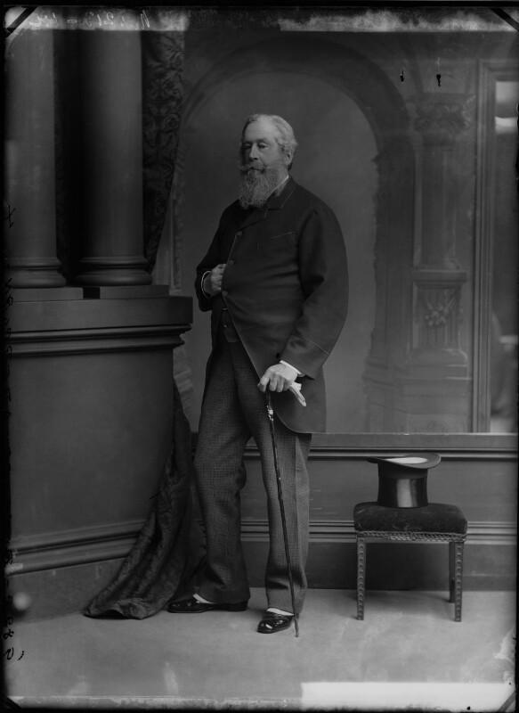 James Hamilton, 1st Duke of Abercorn, by Alexander Bassano, circa 1884 - NPG x96627 - © National Portrait Gallery, London
