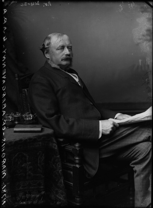 William Nevill, 1st Marquess of Abergavenny, by Alexander Bassano, circa 1884 - NPG x96629 - © National Portrait Gallery, London