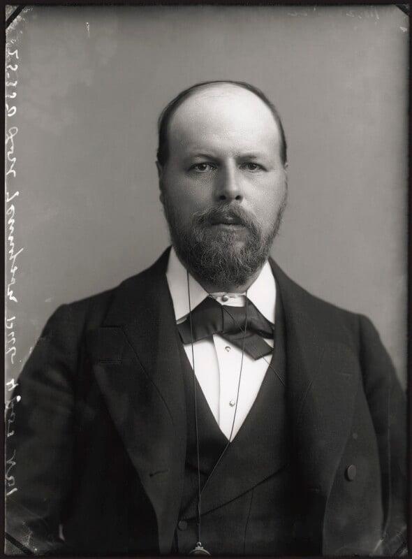 Hallam Tennyson, 2nd Baron Tennyson, by Alexander Bassano, 1896 - NPG x96640 - © National Portrait Gallery, London