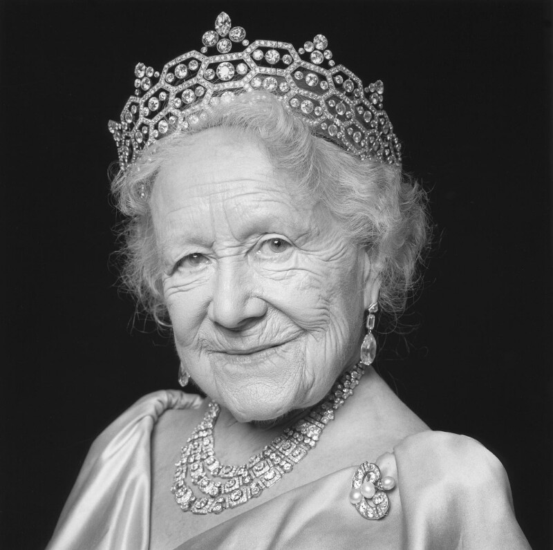 Queen Elizabeth, the Queen Mother, by Norman McBeath, 24 February 1999 - NPG x88758 - © Norman McBeath / National Portrait Gallery, London