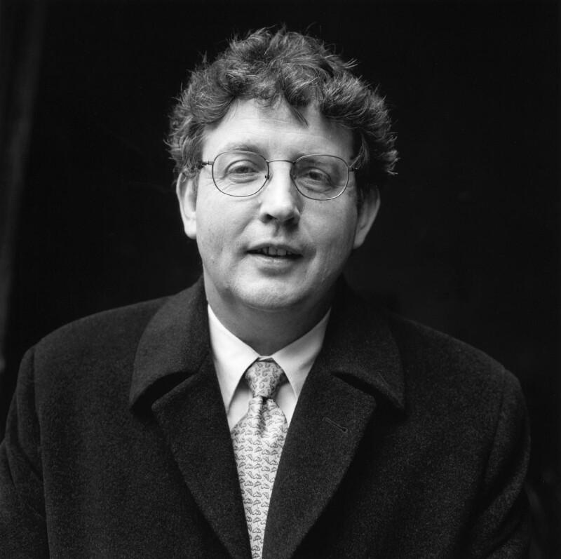 Paul Benedict Muldoon, by Norman McBeath, 1 November 1999 - NPG x88767 - © Norman McBeath / National Portrait Gallery, London