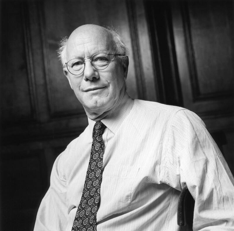 Sir Christopher Bruce Ricks, by Norman McBeath, 22 July 1999 - NPG x88769 - © Norman McBeath / National Portrait Gallery, London