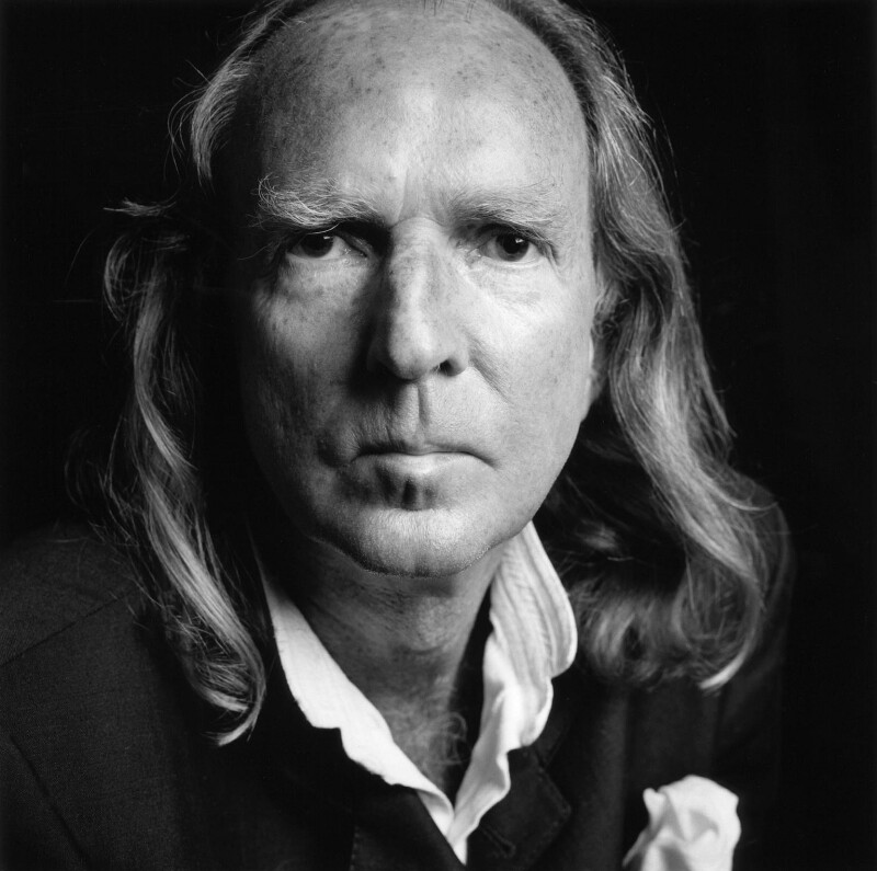 Sir John Kenneth Tavener, by Norman McBeath, 11 May 1999 - NPG x88770 - © Norman McBeath / National Portrait Gallery, London
