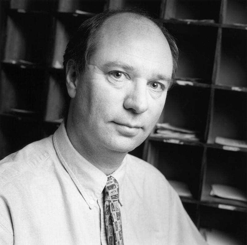 John Andrew Simpson, by Norman McBeath, 18 January 2000 - NPG x88771 - © Norman McBeath / National Portrait Gallery, London