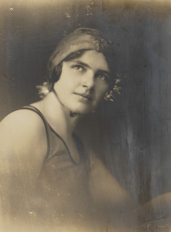 Mercedes Gleitze, by J.P. Bamber Studios of Blackpool, 1928 - NPG P872 - © National Portrait Gallery, London