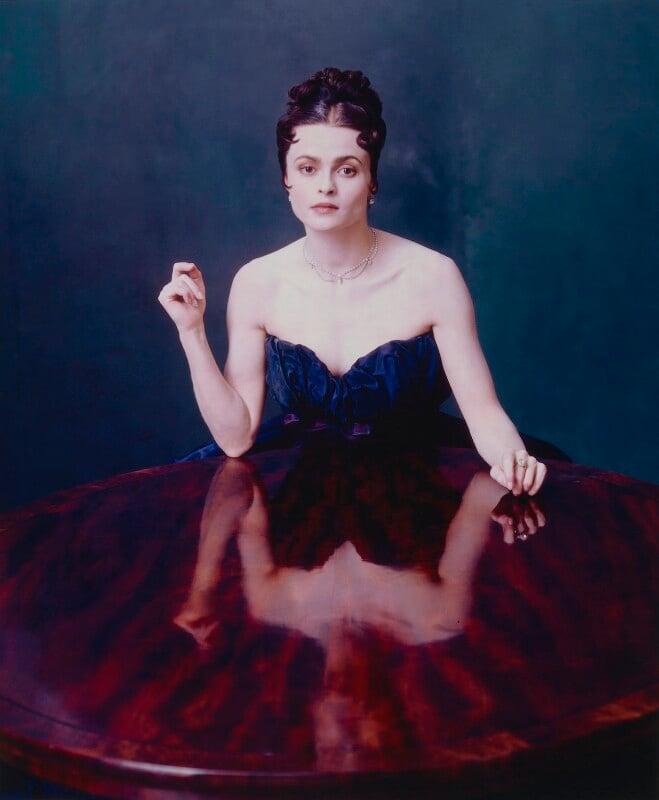 Helena Bonham Carter, by David Seidner, 1998 - NPG P876 - © International Center of Photography, David Seidner Archive
