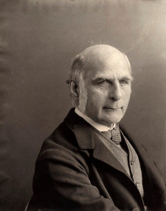 Sir Francis Galton (1822-1911).