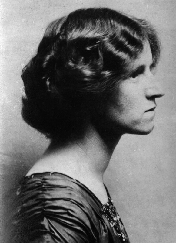 Susan Sutherland Isaacs, by Unknown photographer, copied by  Elliott & Fry, 1910s - NPG x95361 - © National Portrait Gallery, London