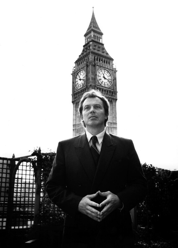 Tony Blair, by Gemma Levine, 1993 - NPG x88870 - © Gemma Levine