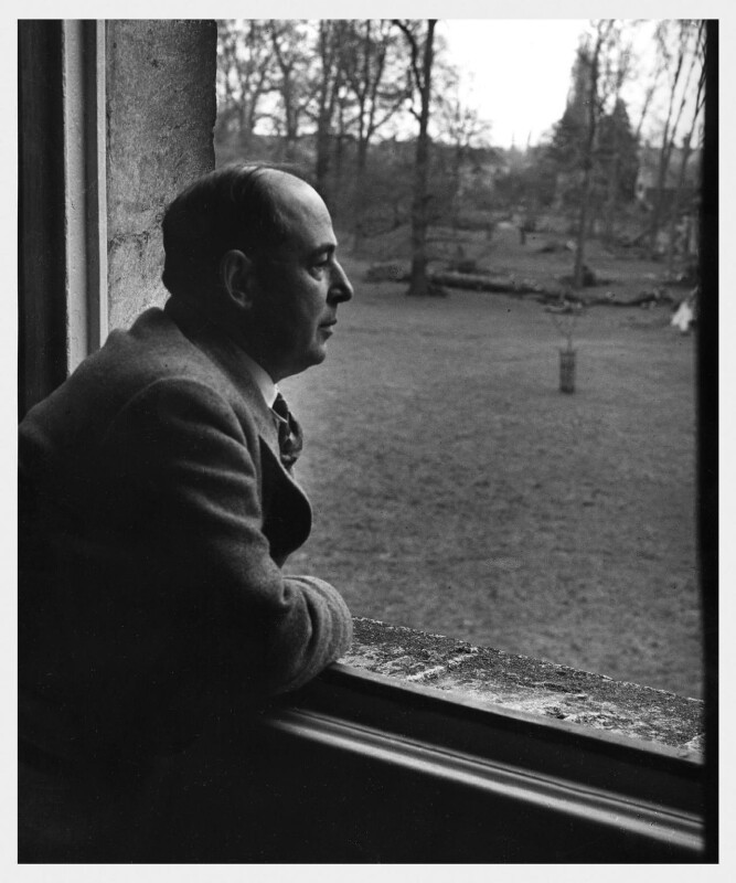 C.S. Lewis, by Arthur Strong, 1947 - NPG x19837 - © estate of Arthur Strong