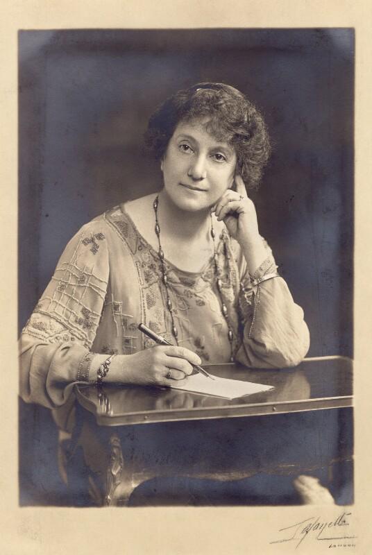 Angela Brazil, by Lafayette, 1920s - NPG x76689 - © National Portrait Gallery, London