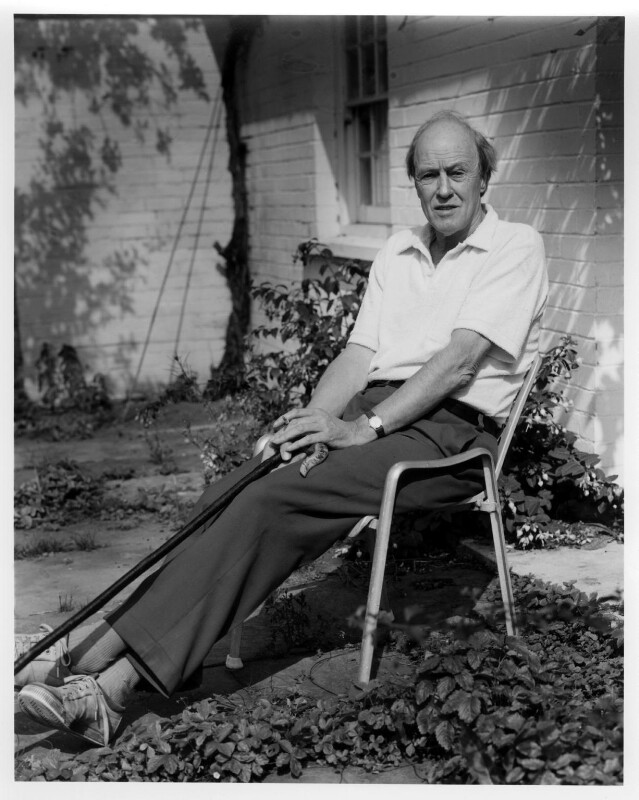 Roald Dahl, by Stephen Hyde, September 1982 - NPG x24939 - © Stephen Hyde / National Portrait Gallery, London