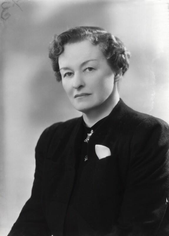 Enid Algerine Bagnold ('Lady Jones'), by Bassano Ltd, 22 May 1939 - NPG x16781 - © National Portrait Gallery, London