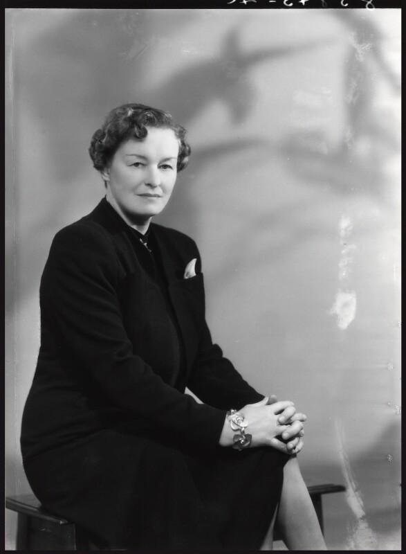 Enid Algerine Bagnold ('Lady Jones'), by Bassano Ltd, 22 May 1939 - NPG x16783 - © National Portrait Gallery, London
