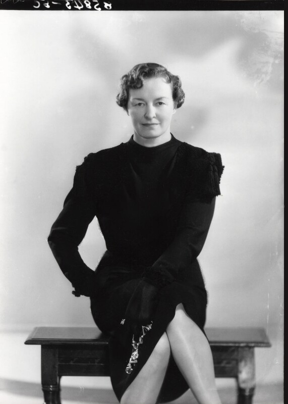 Enid Algerine Bagnold ('Lady Jones'), by Bassano Ltd, 15 June 1939 - NPG x16784 - © National Portrait Gallery, London