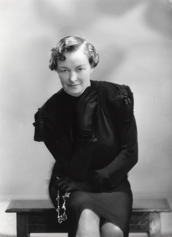 Enid Algerine Bagnold ('Lady Jones'), by Bassano Ltd, 15 June 1939 - NPG x16785 - © National Portrait Gallery, London