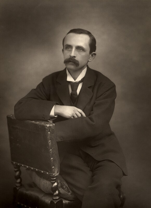 J.M. Barrie, by Herbert Rose Barraud, 1892 - NPG x5161 - © National Portrait Gallery, London