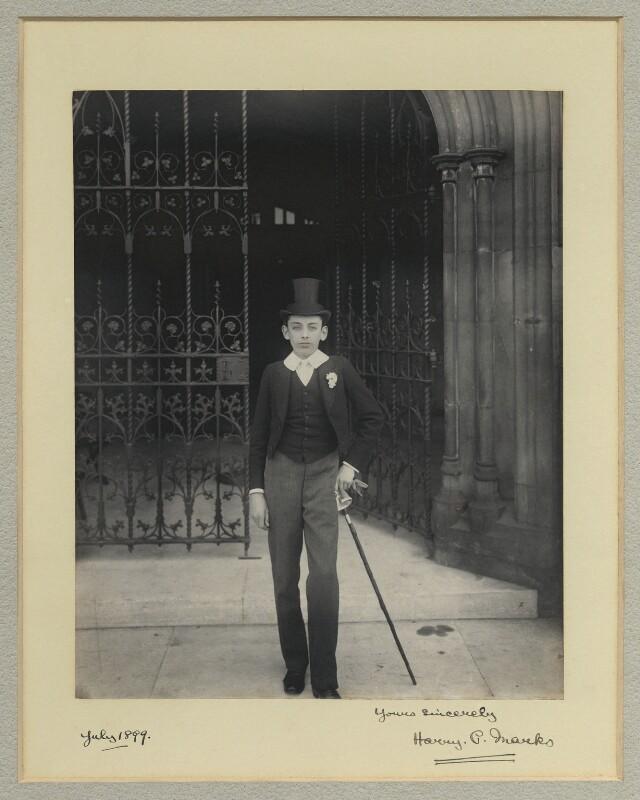 Harry P. Marks, by Benjamin Stone, July 1899 - NPG x44869 - © National Portrait Gallery, London