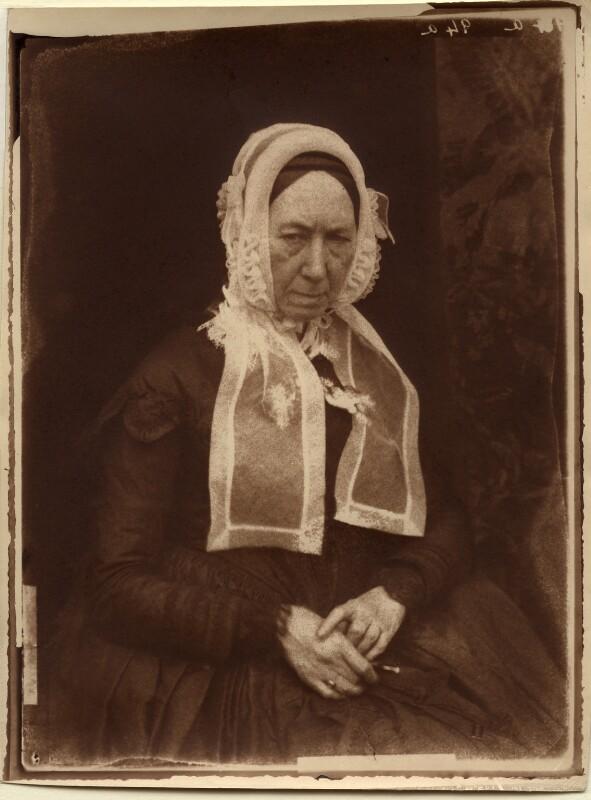Mrs Williamson, by David Octavius Hill, and  Robert Adamson, 1843-1848 - NPG x18777 - © National Portrait Gallery, London