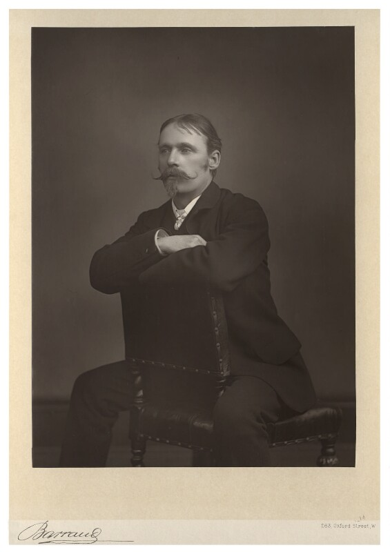 Walter Crane, by Herbert Rose Barraud, published by  Eglington & Co, published 1891 - NPG Ax5523 - © National Portrait Gallery, London