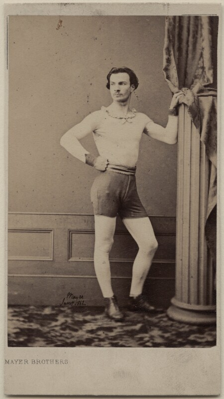 Unknown athlete, by Mayer Brothers, circa 1861 - NPG Ax47095 - © National Portrait Gallery, London