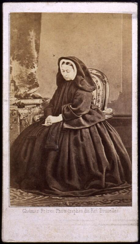 Queen Victoria, by Ghémar Frères, September 1862 - NPG x13974 - © National Portrait Gallery, London