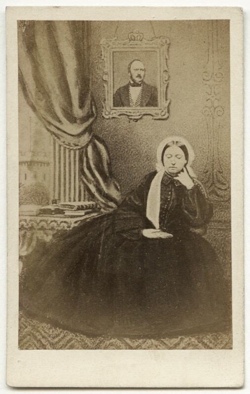 Queen Victoria, by Unknown photographer, 1860s - NPG x36266 - © National Portrait Gallery, London