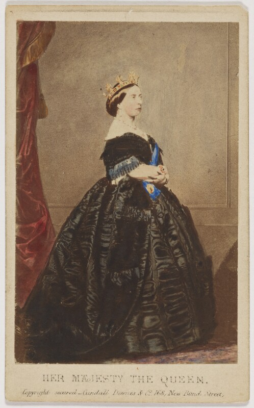Queen Victoria, by Charles Clifford, published by  Cundall, Downes & Co, 14 November 1861 - NPG x36265 - © National Portrait Gallery, London