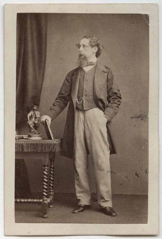 Charles Dickens, by John & Charles Watkins, 1861 - NPG Ax16251 - © National Portrait Gallery, London