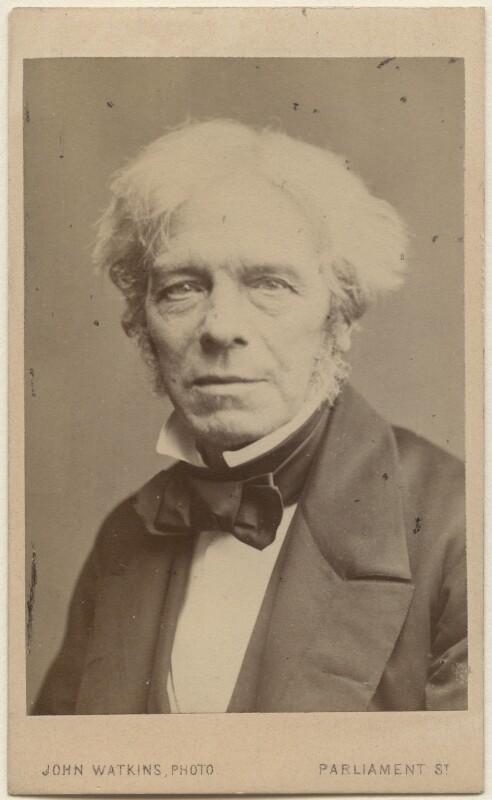 Michael Faraday, by John Watkins, 1860s - NPG Ax16267 - © National Portrait Gallery, London