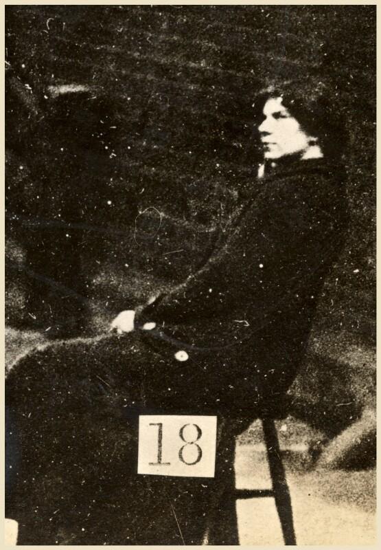 Miriam Pratt, by Criminal Record Office, 1914 - NPG x45566 - © National Portrait Gallery, London