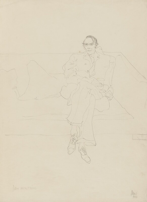 John Armstrong, by Oriel Ross, 1930s - NPG 6574 - © reserved; collection National Portrait Gallery, London